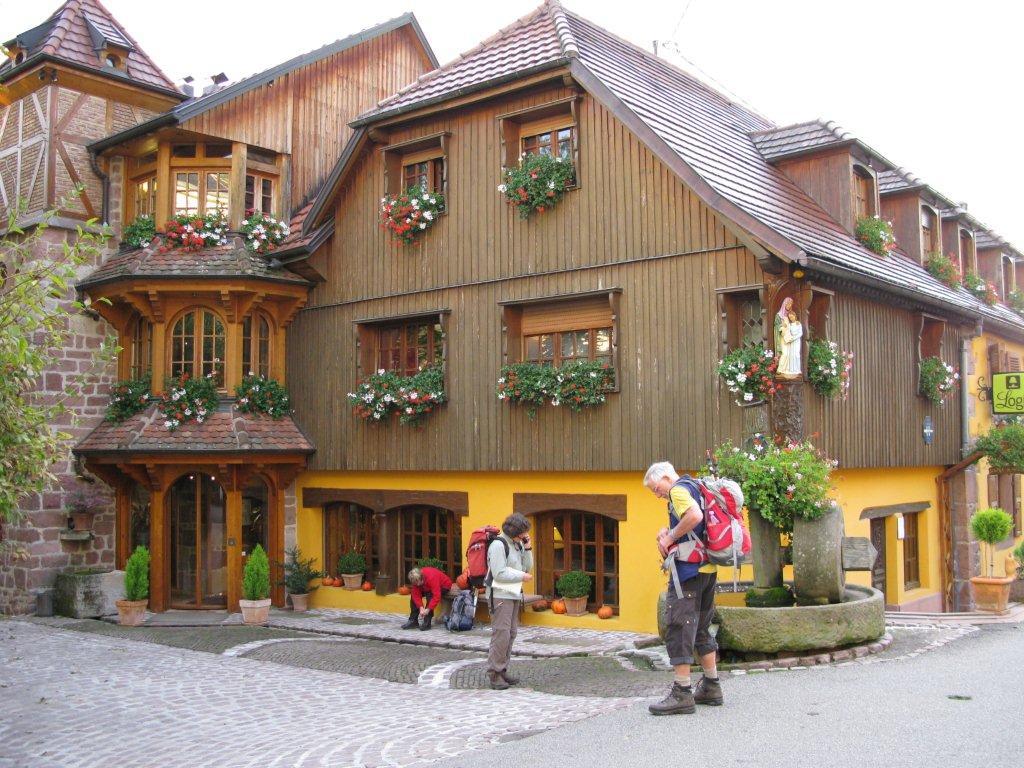 Auberge Meuniere Thannenkirch pour alpenverein saarbrücken - tourengruppe : thannenkirch 2011